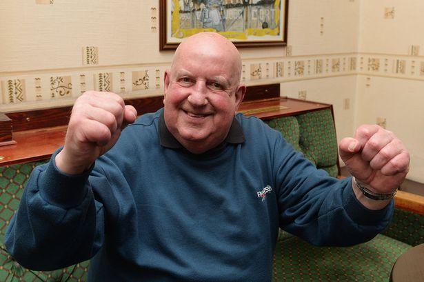 Celebration: Ex-miner Graham Whitehurst