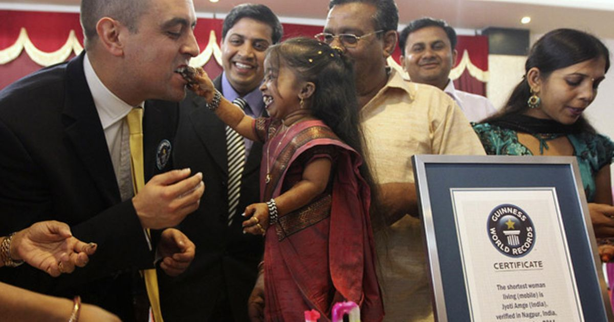 Image result for World's Smallest Woman Jyoti Amge Gets Married