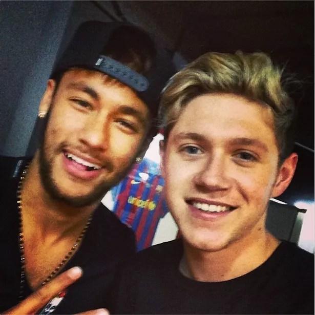 Neymar Niall Horan