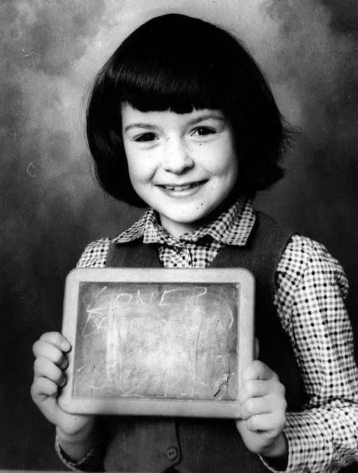 Jennifer Cardy aged 9