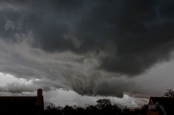 Weather: UK hit by freak storms with huge hailstones ...