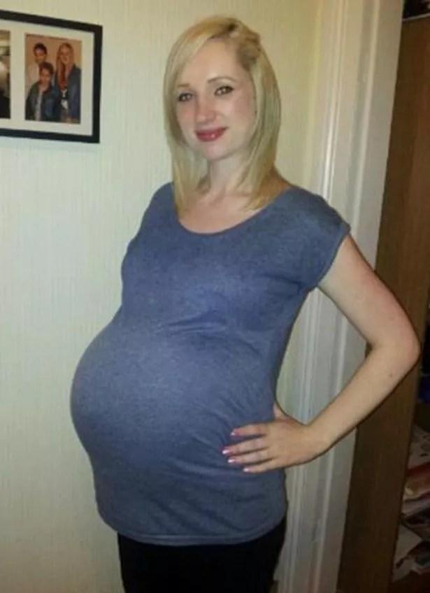 9 Months Pregnant Quadruplets