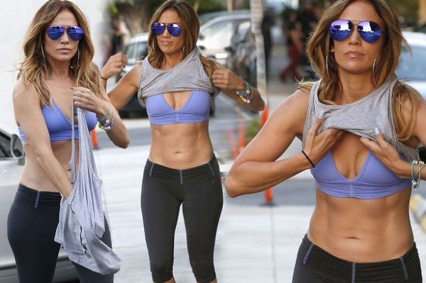 Watch Jennifer Lopez show us how to get her perfectly ...