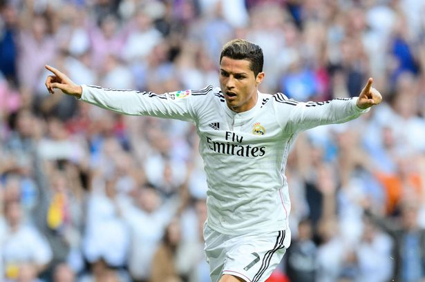 Image result for I'm staying at Real Madrid – Ronaldo