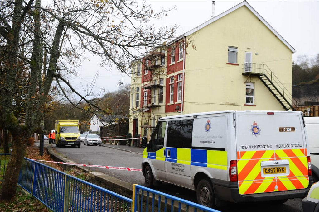 Taser death, Cannibal Killer, Caerphilly