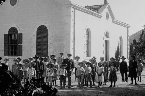 Templers in Wilhelma