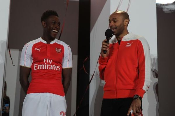 Arsenal unveil new 2015/16 kit as stars turn out for grand ...