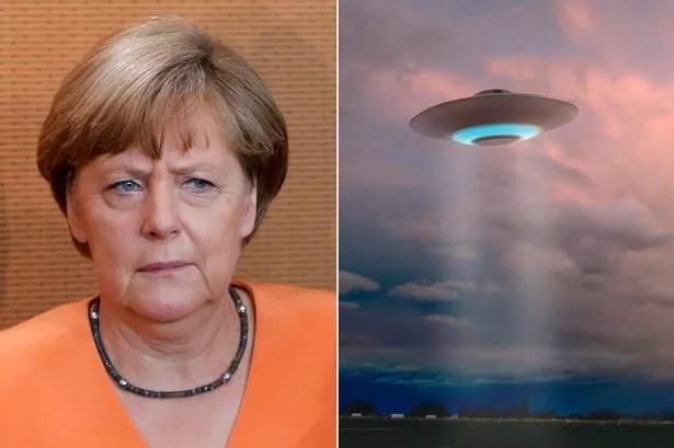 German UFO cache