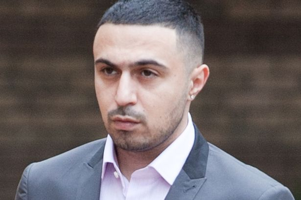 Actor, Adam Deacon, arrives at Hammersmith Crown Court