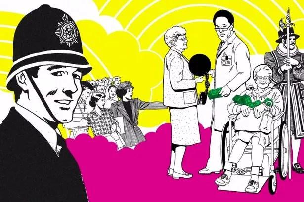 Amnesty International spoofs London arms fair.