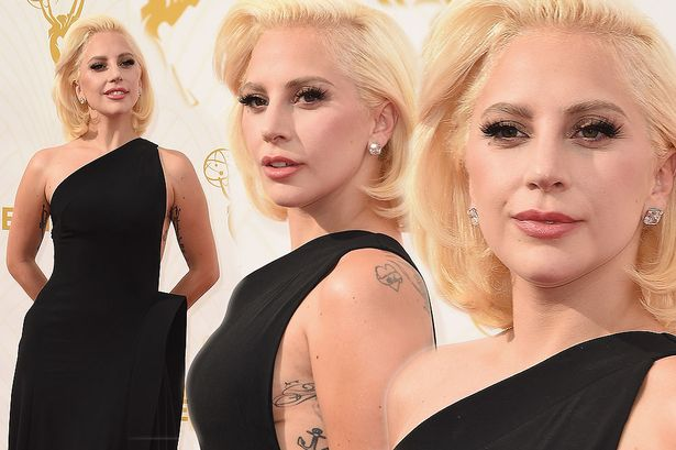 Lady Gaga attends the 67th Annual Primetime Emmy AwardsLady Gaga attends the 67th Annual Primetime Emmy Awards