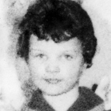 Lesley Ann Downey, aged 10, whose body was found in a shallow grave on Saddleworth Moors near Manchester in 1966