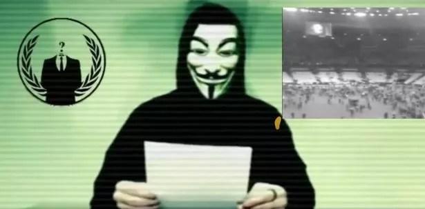 Anonymous declara la guerra a Estado Islámico después de los ataques de París