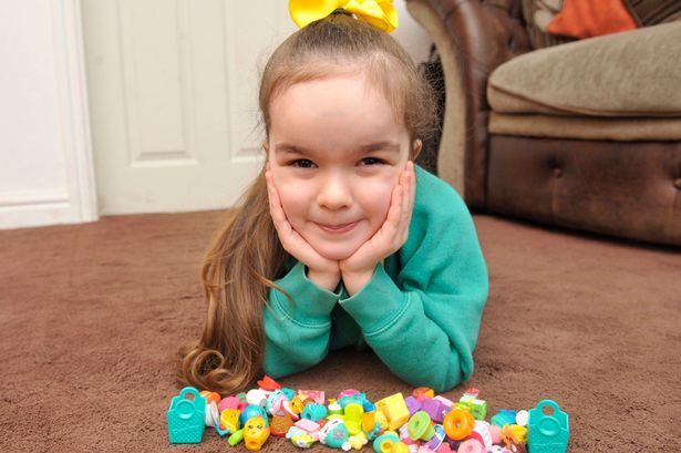 A rare shopkins toy that Gracie Davis from Farnworth, Grtr Mancs., sold on ebay from over £200