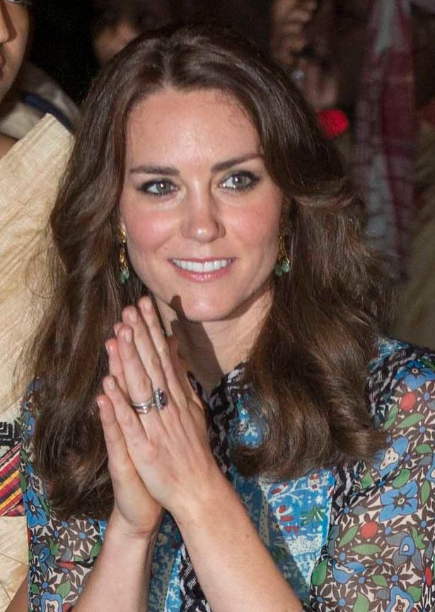 Kate Middleton wears Anna Sui at Kaziranga National Park