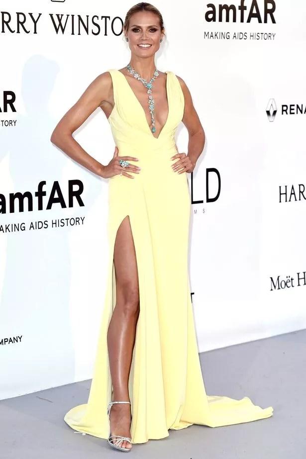 Heidi Klum at the amfAR's 23rd Cinema Against AIDS Gala in Cannes, France