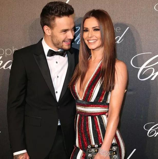 Cheryl (L) and her boyfriend Liam Payne