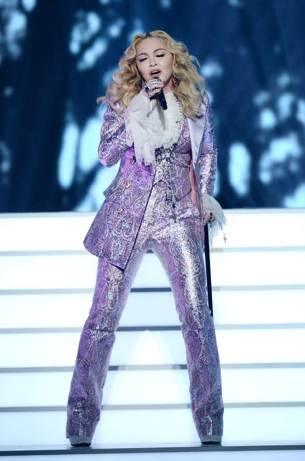 Recording artist Madonna performs a tribute to Prince onstage during the 2016 Billboard Music Awards at T-Mobile Arena on May 22, 2016 in Las Vegas, Nevada