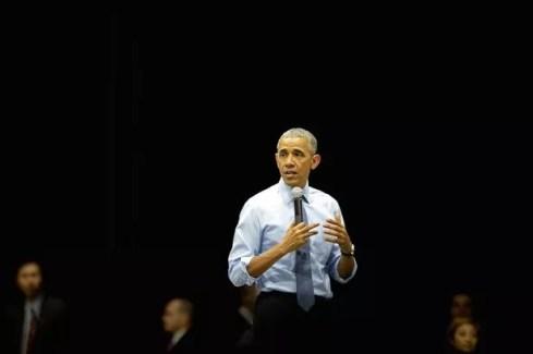 O presidente dos EUA Barack Obama