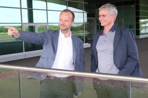 Jose Mourinho, new manager of Manchester United
