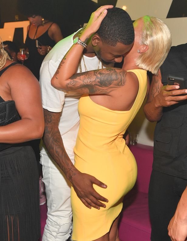Terrence Ross and Amber Rose attend The Memorial Weekend Affair at Gold Room
