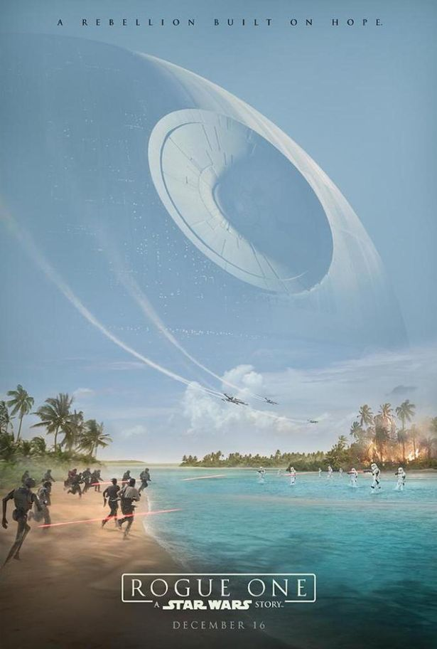 Image result for rogue one official poster