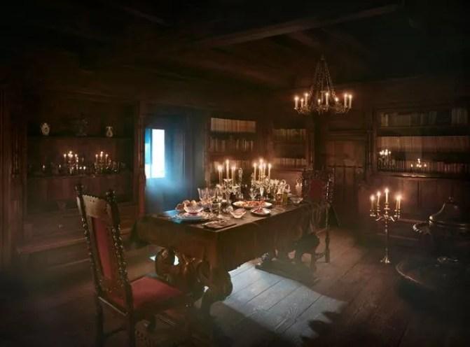 Resultado de imagen para canadian spend night in dracula castle