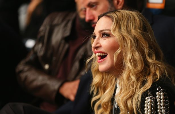 Music recording artist Madonna the UFC 205 event at Madison Square Garden on November 12, 2016 in New York City