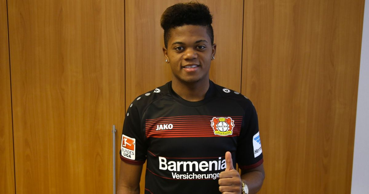 Image result for leon bailey bayer leverkusen