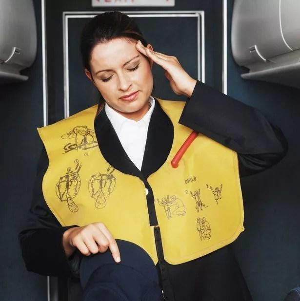 Air stewardess
