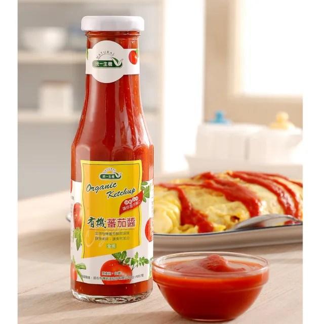 【統一生機】有機番茄醬(270g/瓶)