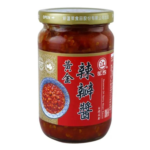 【江記】黃金辣豆瓣醬 360g