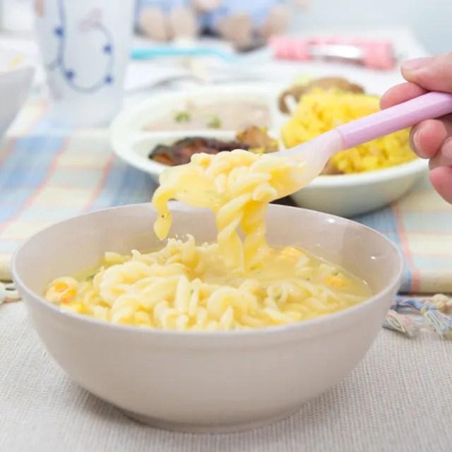 【樂活動】Pastel 輔助餐具 防滑型粉彩湯匙(粉紅L)