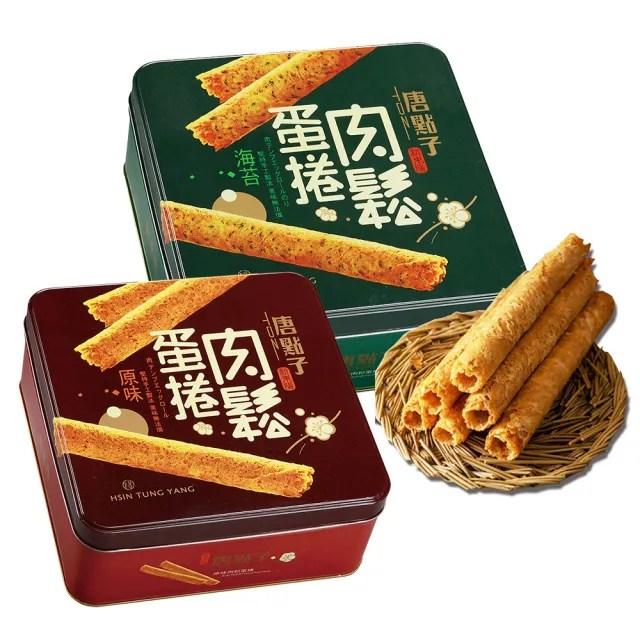 【新東陽-禮盒】肉鬆蛋捲禮盒(原味/海苔)