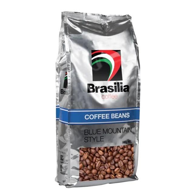 【Brasilia】巴西里亞咖啡豆-藍山風味(500g)