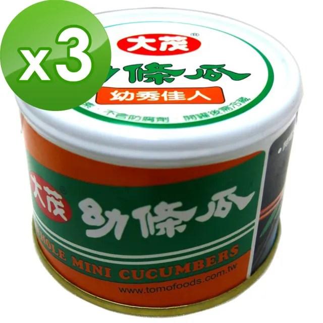 【大茂】幼條瓜-鐵罐170gX3入
