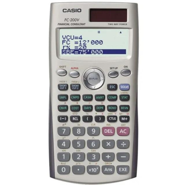 【CASIO】財務型計算機(FC-200V)