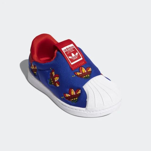 【adidas官方旗艦館】童鞋 SUPERSTAR 360 經典鞋 男童/女童(FY2512)