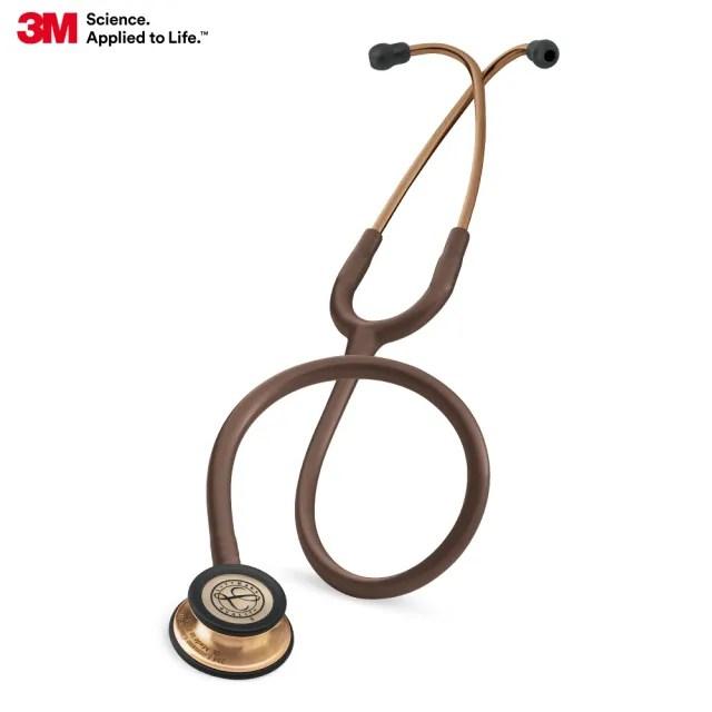 【3M】Littmann 5809 一般型第三代聽診器  摩卡棕色管/古銅金聽頭(聽診器)