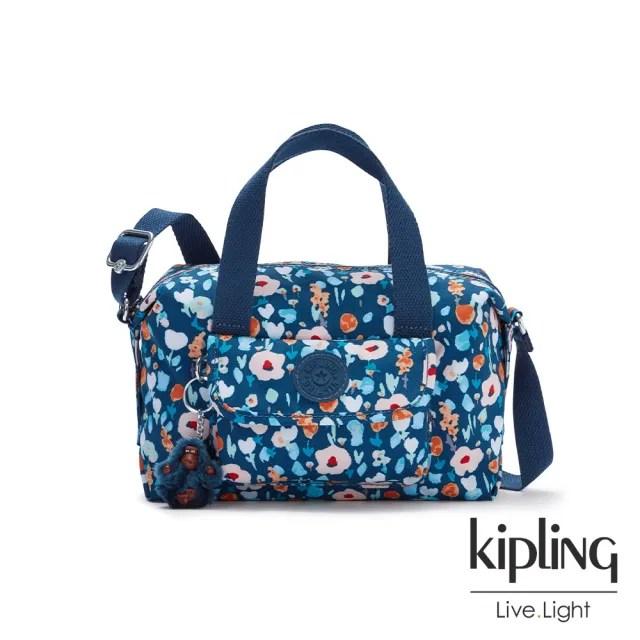 【KIPLING】牧場彩繪風格波士頓手提兩用包-BRYNNE