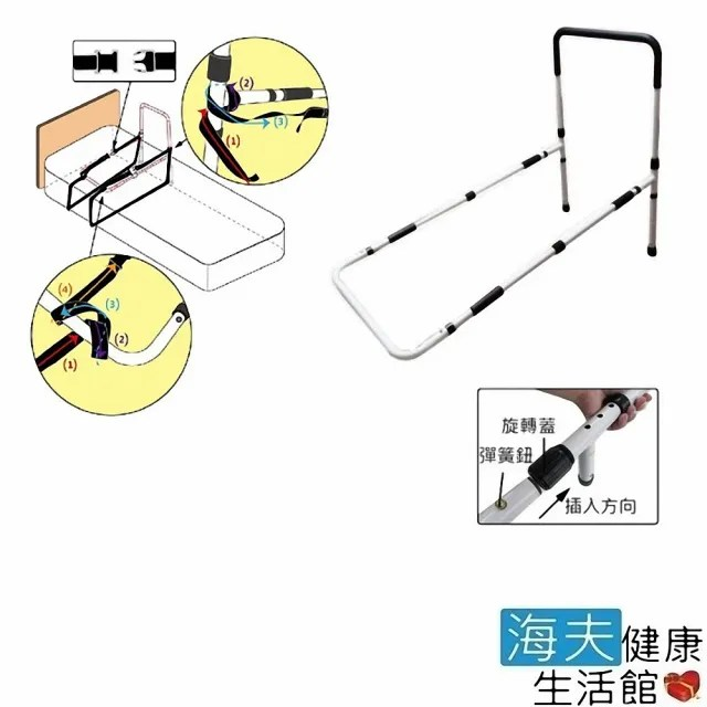 【海夫健康生活館】日華 床邊扶手 起身扶手 2條束帶 加強版(ZHTW1827)