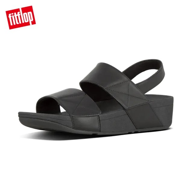 【FitFlop】MINA BACK-STRAP SANDALS 可調式後帶涼鞋-女(靚黑色)