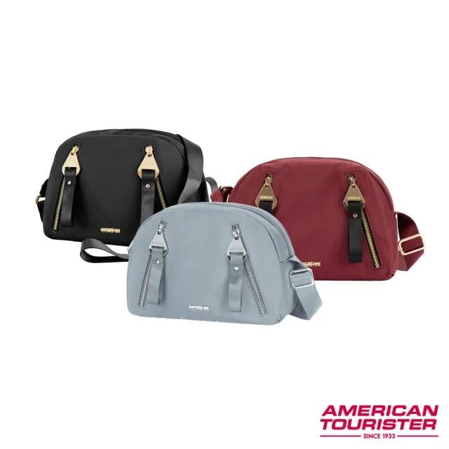 【AT美國旅行者】Alizee IV輕巧分層收納迷你斜背包 多色可選(GH3)