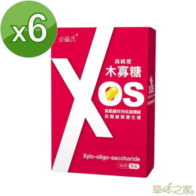 【草本之家】木寡糖XOS30粒6入