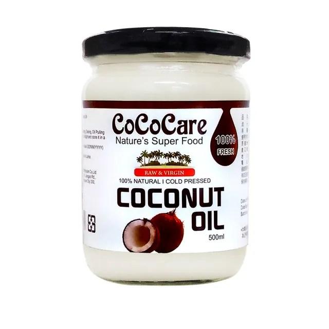 【CoCoCare】100%冷壓初榨椰子油(500ml)