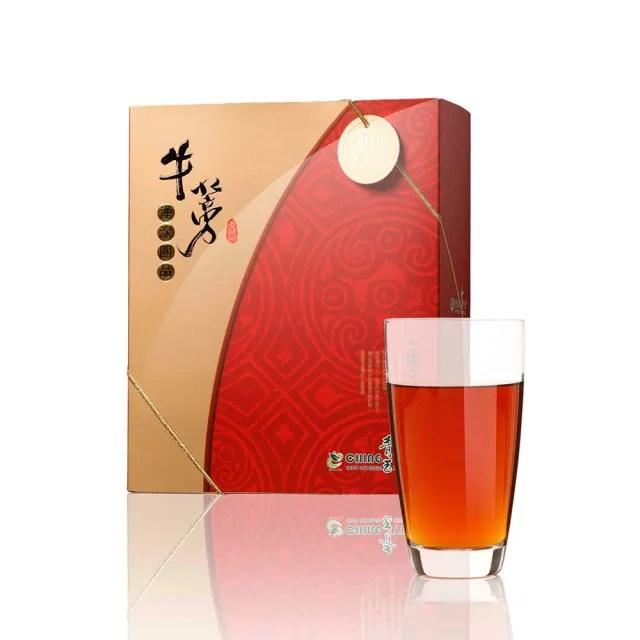 【青玉牛蒡茶-中秋禮盒】湧泉四品牛蒡茶包禮盒(6g*40包入/盒)
