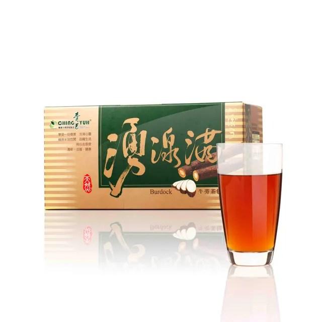 【青玉牛蒡茶】湧泉滿牛蒡茶包(6g*20包入/盒)