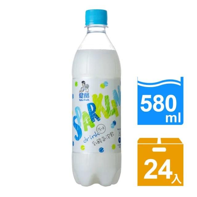 【金車/伯朗】健酪乳酸氣泡飲料580ml-24瓶/箱