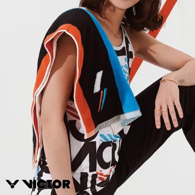 【VICTOR 勝利體育】2021 CROWN COLLECTION戴資穎專屬系列 運動毛巾(C-4166 黑)