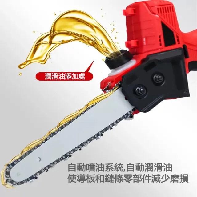 【果農之匠║8寸鏈鋸】無線電動單手鏈鋸|無碳刷|家用休閒園藝|電動鋸|電鋸|剪枝|文旦荔枝樹(充電式)